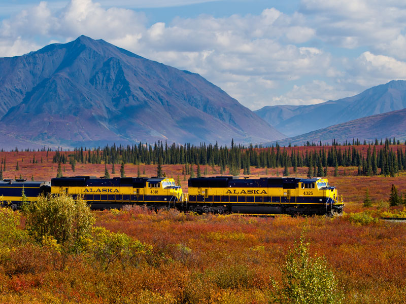 Alaska Land Tour with Arctic Circle Tour | Alaska Railroad