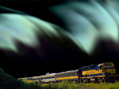 Alaska Aurora Rail Adventure | Bettles Lodge