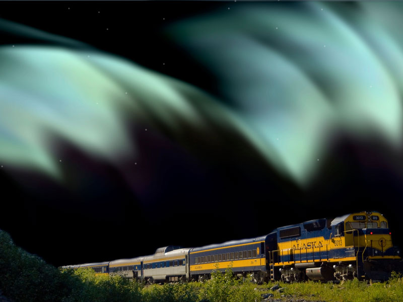 Alaska Aurora Rail Adventure | Alaska Railroad