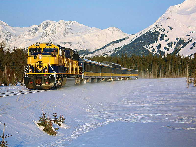 Alaska Aurora Rail Adventure | Alaska Railroad Winter