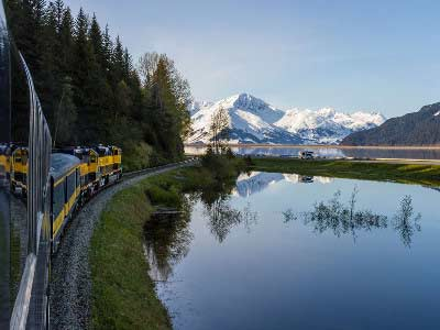 Best of Alaska Rail & Glaciers | First-time Favorites