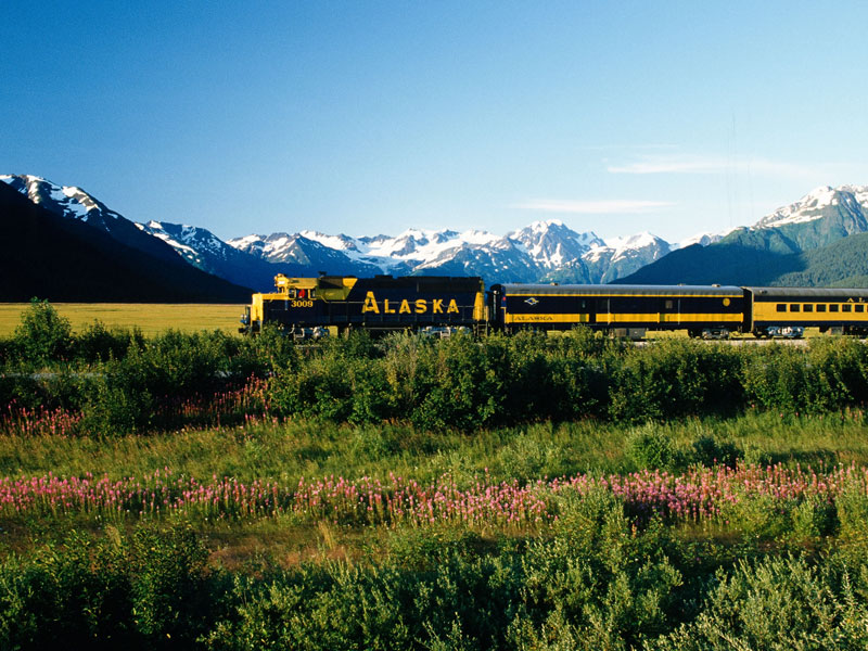 Best of Alaska Rail, Bears & Glaciers | Alaska Railroad
