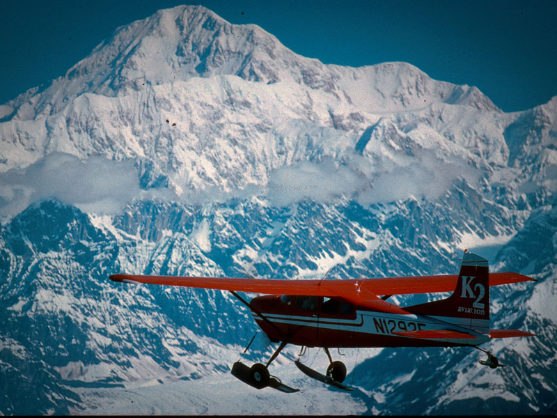 Best of Alaska, Trains, Wildlife & Denali Cruise Connector | Denali Backcountry Tour with Scenic Flight