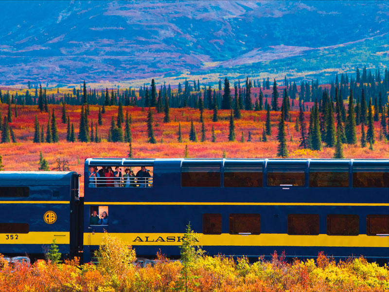 Alaska Rail Vacation | Alaska Railroad Goldstar Service