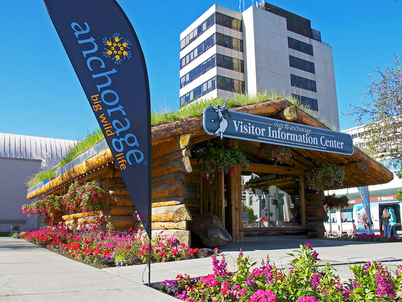 Alaska Rail Vacation | Anchorage Visitor Centre