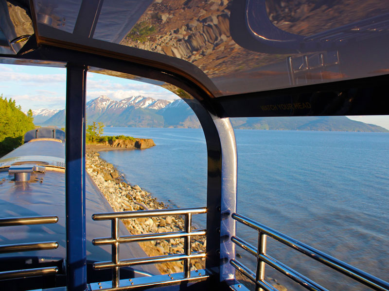 Alaska Train Vacations | Alaska Railroad Goldstar Dome