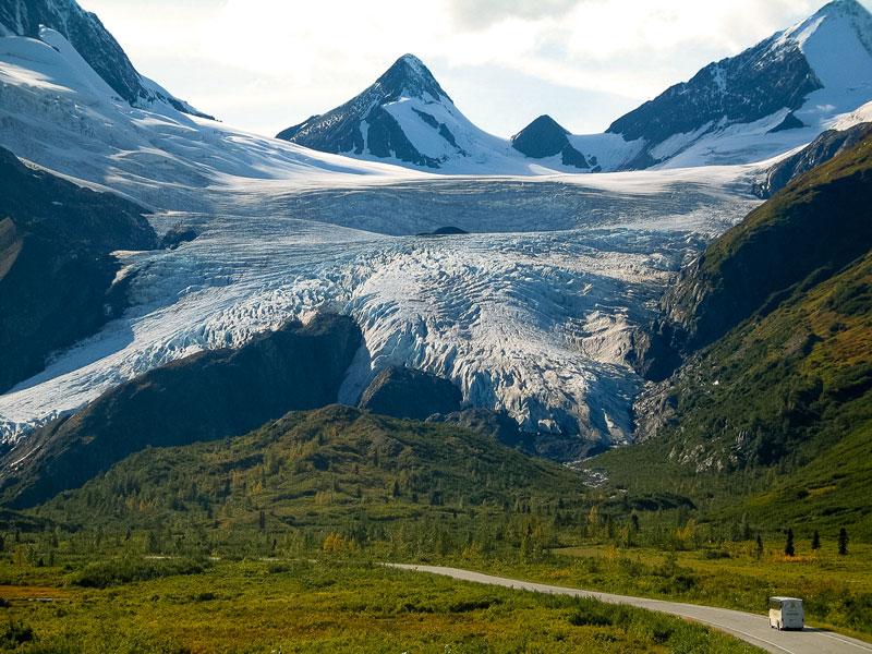 Alaska Train Vacations | Worthington Glacier