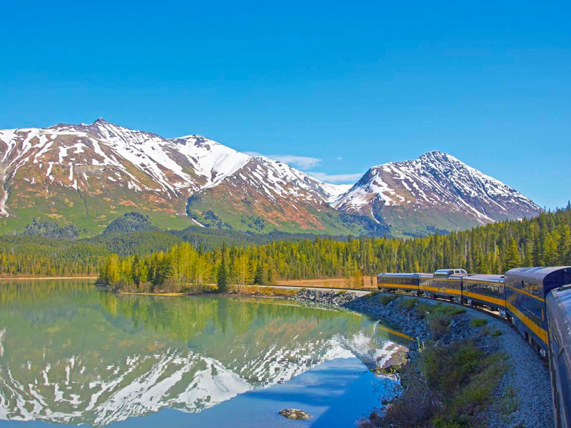 Alaska Cruise with Canadian Rockies Train Tour | Alaska Railroad